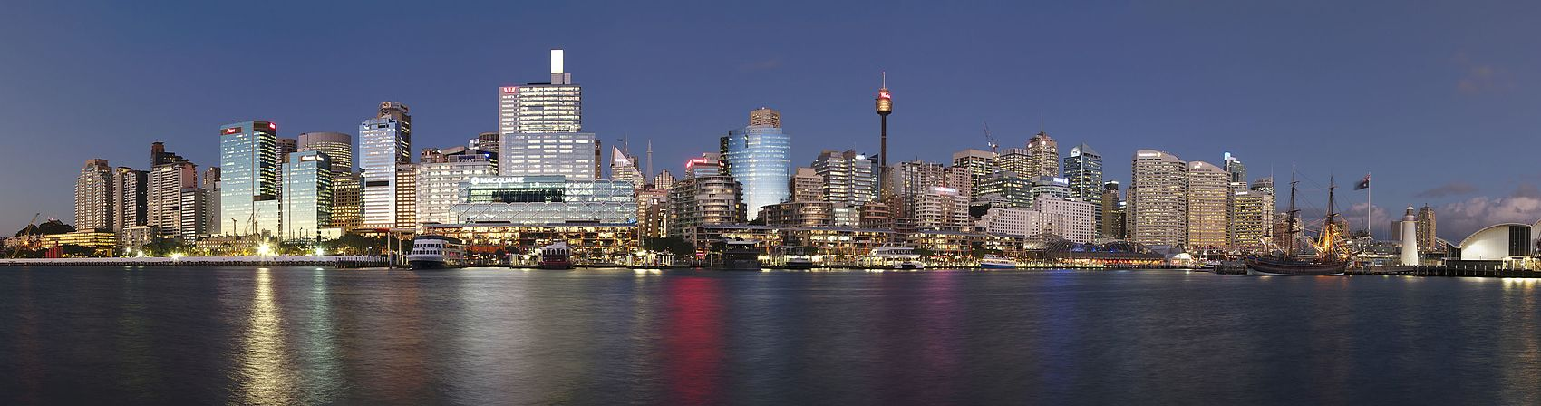 Sydney from Darling Harbour