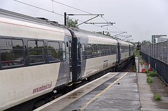 East Coast (train operating company) - Image: Darlington railway station MMB 13