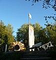 Das Originalteil der Berliner Mauer erinnert an den 9. November 1989. (War das ein Tag^) - panoramio.jpg