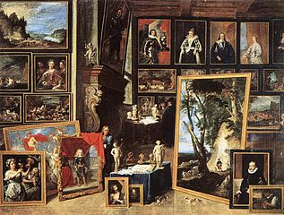 The Gallery of Archduke Leopold in Brussels