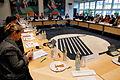 De nordiska kulturministrarna haller mote med Noridka radets kulturutskott under sessionen i Kopenhamn 2006.jpg