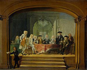 Régents de l'hospice, 1729