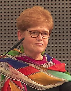Deborah Lipstadt - in a presentation on the Shoah for the International Committee of the Red Cross (2015)