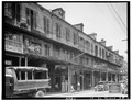 Decatur Street French Quarter 1936 Ursulines Row Houses Street Scene.tif