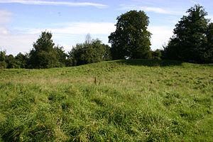 Deddington - The remains of Deddington Castle's inner bailey