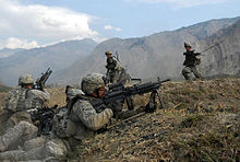 U.S Soldiers in action