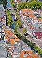 Delft Blick von der Nieuwe Kerk auf die Grachten 5.jpg