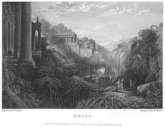 William Linton (artist) - W.Miller after W.Linton. Delos. 1831, from a drawing in the collection of Benjamin Hick