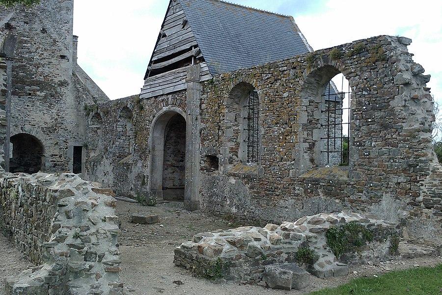 Vielle église d'Omonville à fr:Denneville