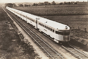 Denver Zephyr - The Denver Zephyr in 1936