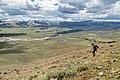 Descending from Bison Peak ridge (2) (27590735217).jpg