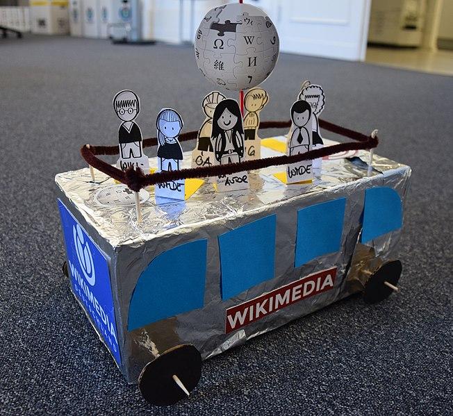 File:Design Thinking Workshop WMDE Prototyp Bus.jpg