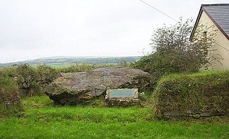 Quoit, Cornwall - Image: Devil's Quoit Near St Columb Major geograph.org.uk 938072