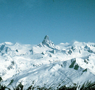 Devils Thumb mountain in the Stikine Icecap region of the Alaska–British Columbia border, near Petersburg