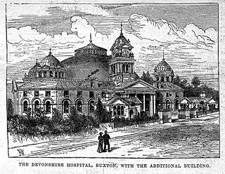 Devonshire Royal Hospital Former hospital in Derbyshire, England