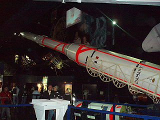 Diamant French expendable satellite launcher