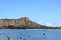Diamond Head Photo in Waikiki Beach.JPG