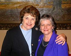Diane Feinstein and Heather Fargo.jpg