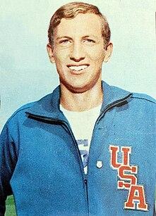 American athletics competitor, high jumper