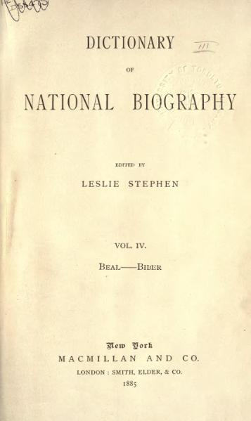 File:Dictionary of National Biography volume 04.djvu