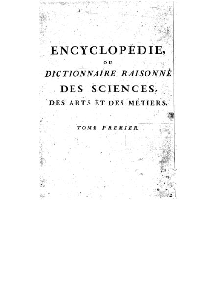 Fichier:Diderot - Encyclopedie 1ere edition tome 1.djvu