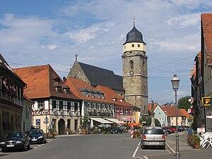 Weismain - Image: Die Weismainer Altstadt