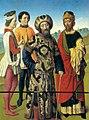 Dieric Bouts - Martyrdom of St Erasmus (detail) - WGA02986.jpg