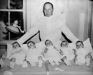 Dionne quintuplets quintuplet girls born 1934 in Ontario, Canada, who survived to adulthood
