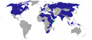 Federal Government of Somalia - Current diplomatic missions of Somalia.