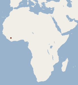 Distribution of Dendromus lachaisei.png