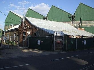 RAF Hythe - Disused RAF building, March 2007