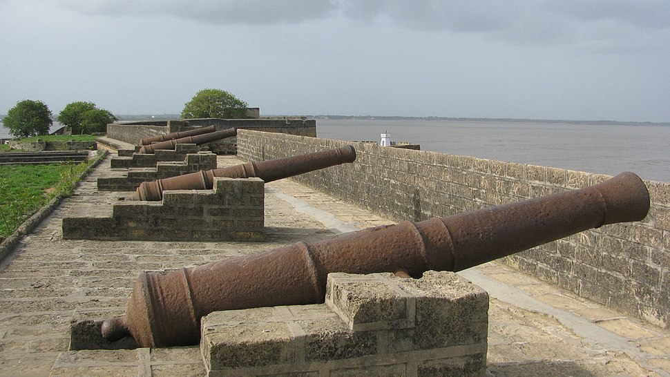 Diu Fort Fixed Cannons