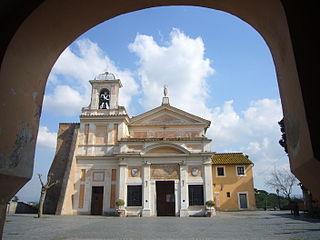 Santuario della Madonna del Divino Amore Church in Rome, Italy