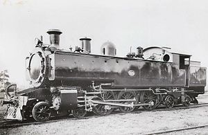 WAGR Dm class - Dm314 in as new condition, 1945