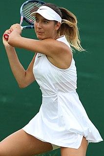Océane Dodin French tennis player