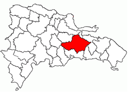 Location of the Monte Plata Province