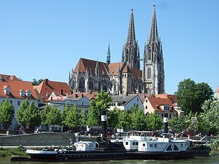 Regensburg Cathedral Church in Regensburg, Germany