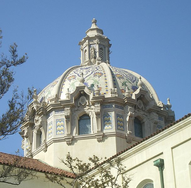 File:Dome of St. Vincent Catholic Church, Los Angeles.JPG