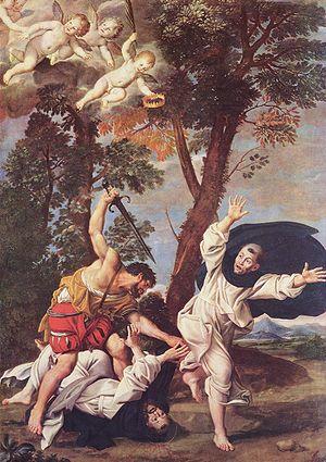 Carino of Balsamo - Domenichino, The Murder of Saint Peter Martyr.