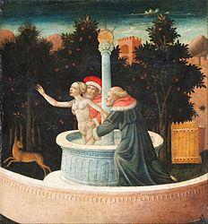 Domenico di Michelino: Susanna and the Elders
