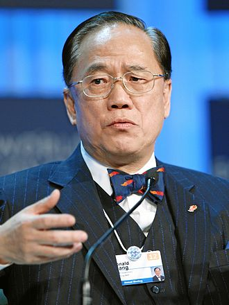 Hong Kong Chief Executive election, 2007 - Image: Donald Tsang WEF