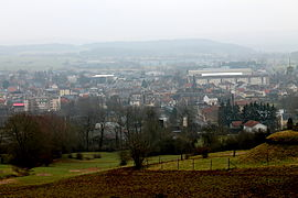 A general view of Donchery
