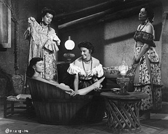 Alma Beltran - With Donna Reed in the 1953 Colombia Western Gun Fury.