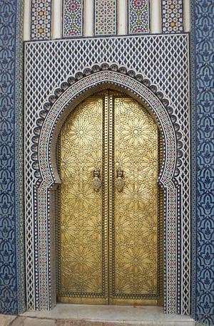 A door in Morocco in 2010.