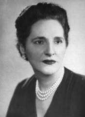 Dorothy Shaver, President of Lord & Taylor from 1945 until her death in 1959.