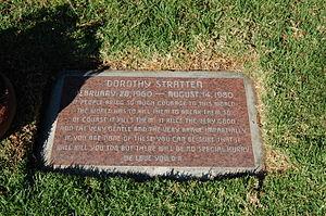 Dorothy Stratten - Dorothy Stratten's grave