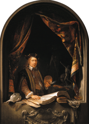 Gerrit Dou - Self-Portrait - c. 1665