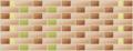 Double flemish bond. thickness = 3 bricks.png