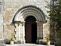 Douzillac église portail.JPG