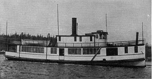 Dove (steamboat) - Image: Dove (steamboat 1889)